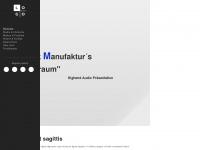 am-klangraum.de Webseite Vorschau