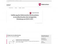 amtsgericht-bueckeburg.niedersachsen.de Webseite Vorschau