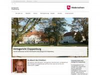 amtsgericht-cloppenburg.niedersachsen.de Webseite Vorschau