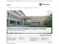 amtsgericht-goettingen.niedersachsen.de Webseite Vorschau