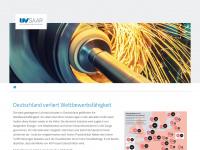 uvsaar.de Webseite Vorschau