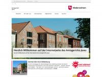 amtsgericht-jever.niedersachsen.de Webseite Vorschau