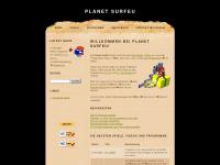 planet-surfeu.de Webseite Vorschau