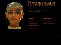 pharao-tutanchamun.de Webseite Vorschau