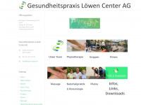physio-luzern.ch Webseite Vorschau