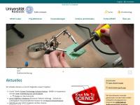 kickmetoscience.uni-rostock.de Webseite Vorschau