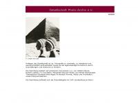 photo-archiv.info Webseite Vorschau