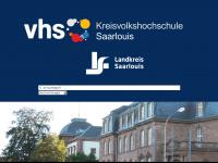 kvhs-saarlouis.de Webseite Vorschau