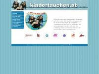 kindertauchen.at Webseite Vorschau