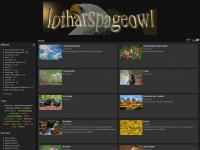 lotharspageowl.de Webseite Vorschau