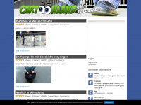 cartoonland.de Webseite Vorschau