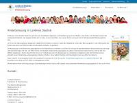 kinderbetreuung.diepholz.de Webseite Vorschau