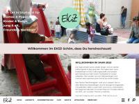 eltern-kind-zentrum.de Webseite Vorschau
