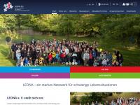 leona-ev.de Webseite Vorschau