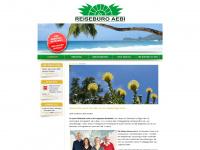 aebi-travel.ch Webseite Vorschau
