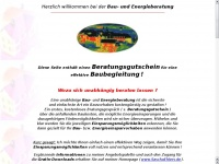 1a-baubegleitung.de Webseite Vorschau