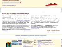 xtel.de Webseite Vorschau