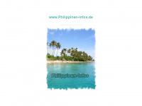 philippinen-infos.de Webseite Vorschau