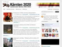 k2020.at Webseite Vorschau