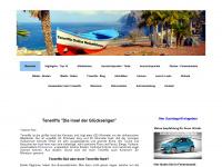 teneriffaurlaub.es Webseite Vorschau