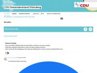 cdu-ottersberg.de Webseite Vorschau