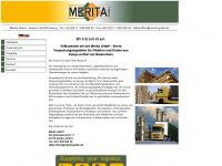 merita-gmbh.de Webseite Vorschau