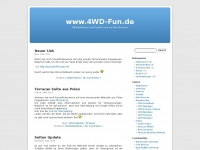4wd-fun.de Webseite Vorschau