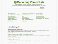 1marketing-verzeichnis.de Thumbnail