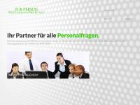 zur-person.de Webseite Vorschau