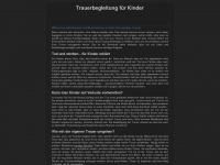 kindertrauer-ak.de Webseite Vorschau
