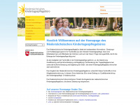 kindertagespflege-nds.de Webseite Vorschau