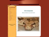 kittis-schlangenkeller.de Webseite Vorschau