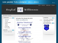 100jahretus.de Webseite Vorschau