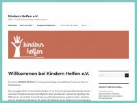 kindernhelfen-ev.de Webseite Vorschau