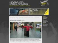 kirchen-privilegien.at Webseite Vorschau