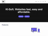 ki-soft.de Webseite Vorschau