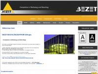 bezet.de Webseite Vorschau