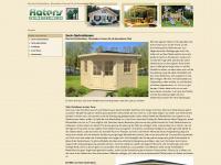 5eck-gartenhaus.de Webseite Vorschau
