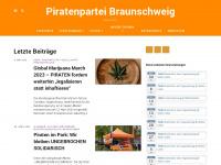 piratenpartei-braunschweig.de Webseite Vorschau