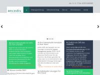 ancedis.de Webseite Vorschau