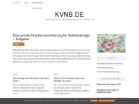 kvnb.de Webseite Vorschau