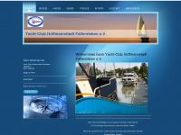ychf.de Webseite Vorschau