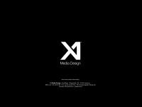 x1design.de Webseite Vorschau