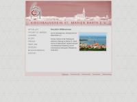 kirchbauverein-barth.de Webseite Vorschau