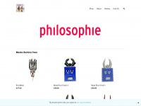 philosophie.nl Webseite Vorschau