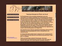 physiovet.de Webseite Vorschau
