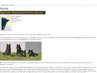 loup-anubis.ch Webseite Vorschau