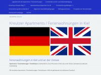 kiel-ferienwohnungen.de Webseite Vorschau