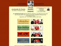 jazzbands-fuer-events.de Webseite Vorschau