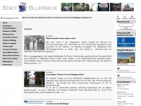 billerbeck.de Webseite Vorschau
